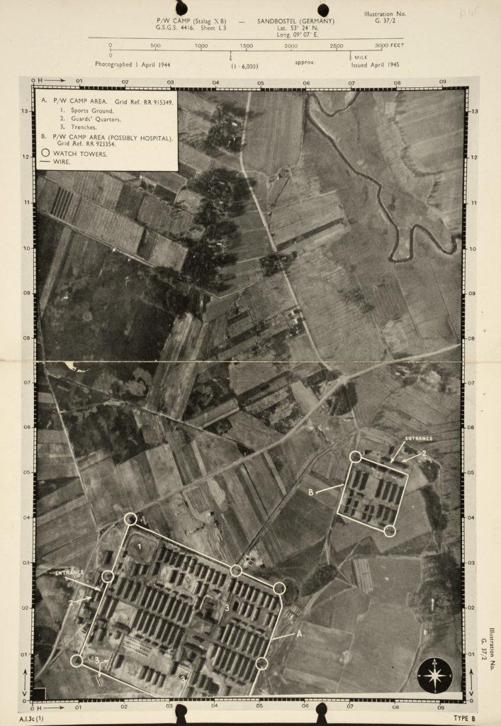 Luftaufnahme der Royal Air Force