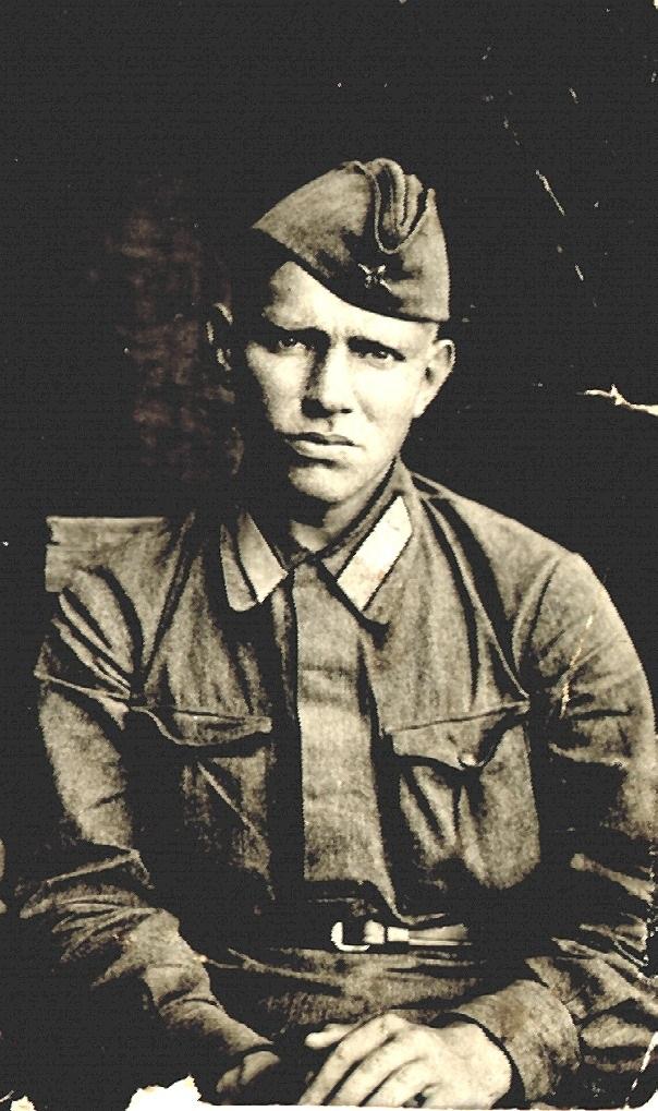 Iwan Gusew in Uniform